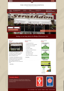 Strathdon Hotel Blackpool Rebrand