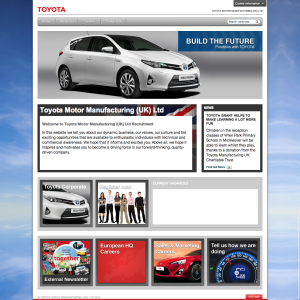 Toyota Motor Manufacturing Recruitment Old Site