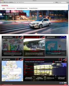 Toyota Motor Manufacturing Recruitment New Site